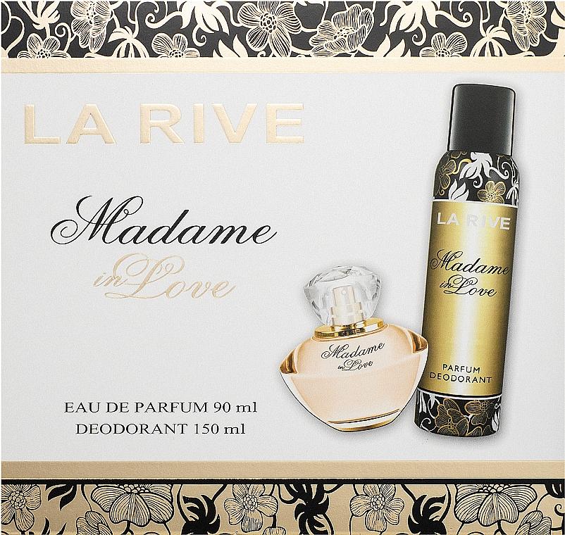 La Rive Madame In Love - Sada (edp/90ml + deo/150ml)