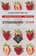 Parfémy, Parfumerie, kosmetika Ultra tenká pleťová maska s jahodovým extraktem - Etude House Therapy Air Mask Strawberry