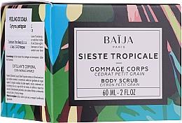 Parfémy, Parfumerie, kosmetika Tělový peeling - Baija Sieste Tropicale Body Scrub