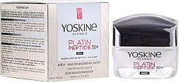 Parfémy, Parfumerie, kosmetika Noční krém pro normální a kombinovanou plet' - Yoskine Classic Platin Peptide Face Cream 50+