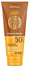 Parfémy, Parfumerie, kosmetika Opalovací lotion na tělo SPF 50 - Venus Golden Sun Lotion SPF 50