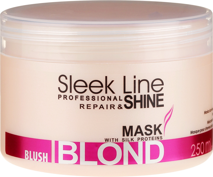 Maska na vlasy - Stapiz Sleek Line Blush Blond Mask