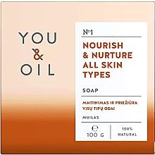 Parfémy, Parfumerie, kosmetika Vyživující mýdlo pro všechny typy pokožky - You & Oil Nourish & Nurture All Skin Types