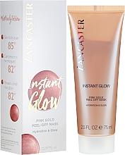 Parfémy, Parfumerie, kosmetika Hydratační maska pro záření pleti - Lancaster Instant Glow Peel-Off Pink Gold Mask