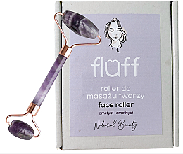 Parfémy, Parfumerie, kosmetika Masážer na obličej Ametyst - Fluff Face Roller Ametyst