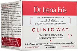 Parfémy, Parfumerie, kosmetika Denní krém Hyaluronové vyhlazení - Dr Irena Eris Clinic Way 1° anti-wrinkle care