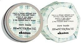 Parfémy, Parfumerie, kosmetika Silně fixační jíl na vlasy s matným efektem - Davines More Inside Strong Moulding Clay