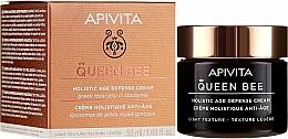Parfémy, Parfumerie, kosmetika Krém s lehkou texturou na komplexní ochranu proti stárnutí - Apivita Queen Bee Holistic Age Defence Cream Light Texture