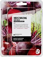 """Parfémy, Parfumerie, kosmetika Textilní maska na obličej """"Červená řepa"""" - Superfood For Skin Moisturizing Sheet Mask"""