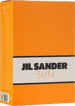 Parfémy, Parfumerie, kosmetika Jil Sander Sun - Sada (edt/75ml + sh/gel/75ml)