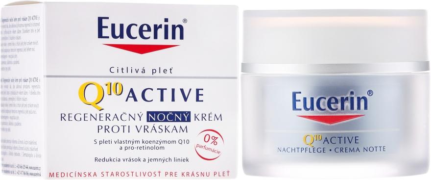 Anti-age noční krém na obličej - Eucerin Q10 Active Night Cream  — foto N1