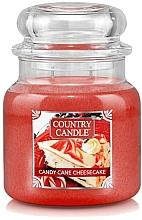 Parfémy, Parfumerie, kosmetika Vonná svíčka ve skle - Country Candle Candy Cane Cheesecake