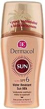 Parfémy, Parfumerie, kosmetika Voděodolné mléko-sprej na opalování - Dermacol Water Resistant Sun Milk SPF 6