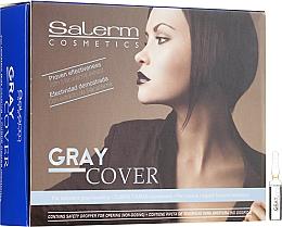 Parfémy, Parfumerie, kosmetika Prostředek pro zlepšení barvení šedých vlasů - Salerm Cubre Canas