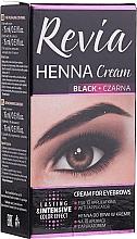 Parfémy, Parfumerie, kosmetika Barvící krém na obočí a řasy Revia Henna Cream - Revia Eyebrows Henna