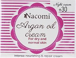 Parfémy, Parfumerie, kosmetika Noční krém na obličej - Nacomi Moroccan Argan Night Cream
