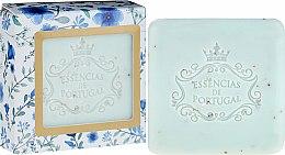 Parfémy, Parfumerie, kosmetika Mýdlo-peeling - Essencias De Portugal Violet And Apricot Kernel Scrub Aromatic Soap