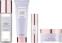 Parfémy, Parfumerie, kosmetika Sada - Monat Be Balanced (cr/45ml + foam/120ml + ser/30ml + essence/120ml)