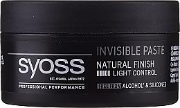 Parfémy, Parfumerie, kosmetika Pasta pro vlasový styling - Syoss Invisible Paste Light Control
