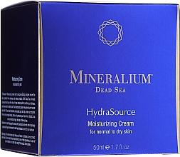 Parfémy, Parfumerie, kosmetika Hydratační krém pro normální až suchou pleť - Mineralium Dead Sea HydraSource Moisturizing Cream For Normal To Dry Skin
