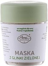 Parfémy, Parfumerie, kosmetika Zelená hliněná minerální pleťová maska - Jadwiga Face Mask