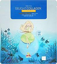 Parfémy, Parfumerie, kosmetika Hydrogelová maska na obličej s kolagenem - Sally's Box Delight Collagen Hydrogel Mask