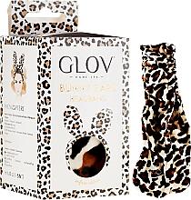Parfémy, Parfumerie, kosmetika Čelenka, leopardová - Glov Spa Bunny Ears Headband Safari Edition