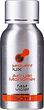 Parfémy, Parfumerie, kosmetika Akrylový tekutý monomer - Silcare Sequent Lux Acrylic Monomer Fast Violet