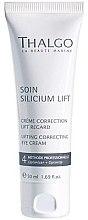 Parfémy, Parfumerie, kosmetika Korekční krém lifting na oční víčka - Thalgo Silicium Regard Eye Cream