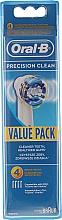 Parfémy, Parfumerie, kosmetika Náhradní hlavice k elektrickým zubním kartáčkům, 4ks - Oral-B EB20 Precision clean