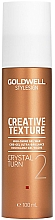 Parfémy, Parfumerie, kosmetika Gel-vosk s křišťálovým leskem - Goldwell Style Sign Creative Texture Crystal Turn High-Shine Gel Wax