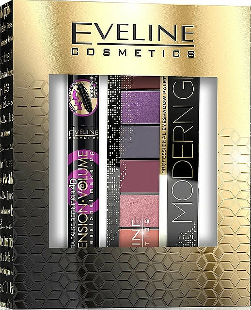 Sada - Eveline Cosmetics (masc/10ml + eye/pal/9.6g)