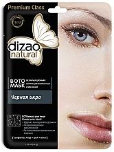 Parfémy, Parfumerie, kosmetika Boto maska na obličej, krk a oční víčka Černý kaviár - Dizao Natural