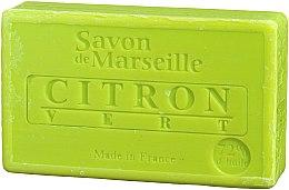"""Parfémy, Parfumerie, kosmetika Mýdlo přírodní """"Citron a limetka"""" - Le Chatelard 1802 Soap Lemon & Lime"""