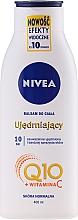 Parfémy, Parfumerie, kosmetika Hydratační krém Q10 plus pro pružnost kůže na normální pleť - Nivea Q10 PLUS Body Lotion