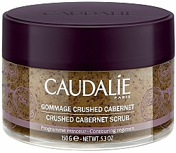 Parfémy, Parfumerie, kosmetika Tělový peeling tonizující Cabernet - Caudalie Vinotherapie Crushed Cabernet Scrub