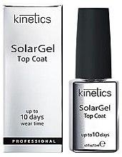 Parfémy, Parfumerie, kosmetika Vrchní vrstva pro gel lak - Kinetics Top Coat Solar Gel Up To 10 Days