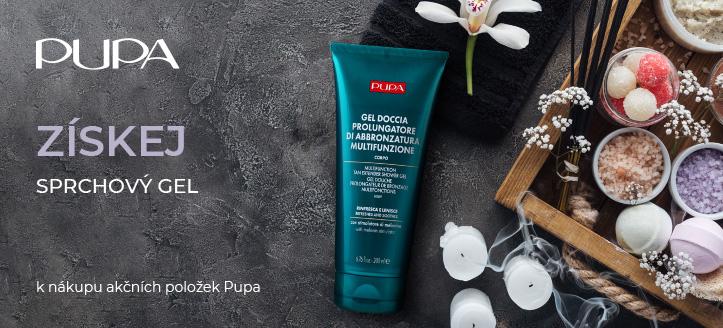 Získej sprchový gel jako dárek k nákupu akčních položek Pupa
