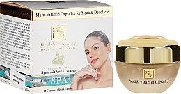 Parfémy, Parfumerie, kosmetika Multivitaminové kapsle na krk a dekolt - Health And Beauty Multi-Vitamin Capsules For Neck And Decollete