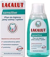 """Parfémy, Parfumerie, kosmetika Ustní voda """"Sensitive"""" - Lacalut Sensitive"""