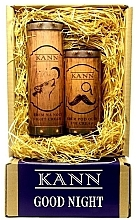 Parfémy, Parfumerie, kosmetika Sada - Kann Good Night Man (f/n/cr/50ml + eye/cr/15ml)