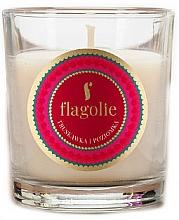 Parfémy, Parfumerie, kosmetika Aromatická svíčka Jahoda a malina - Flagolie Fragranced Candle Strawberry And Raspberry