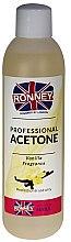 """Parfémy, Parfumerie, kosmetika Prostředek pro odstraňování laku """"Vanilka"""" - Ronney Professional Acetone Vanilia"""