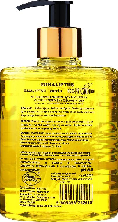 """Olej do koupele """"Eucalyptus"""" - Jadwiga — foto N2"""