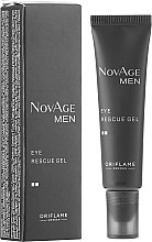 Parfémy, Parfumerie, kosmetika Tonizující gel na pokožku kolem očí - Oriflame NovAge Men Eye Rescue Gel