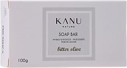 Parfémy, Parfumerie, kosmetika Mýdlo v kostce Oliva - Kanu Nature Soap Bar Bitter Olive
