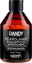 Parfémy, Parfumerie, kosmetika Šampon na vlasy a vousy - Niamh Hairconcept Dandy Beard & Hair Shampoo
