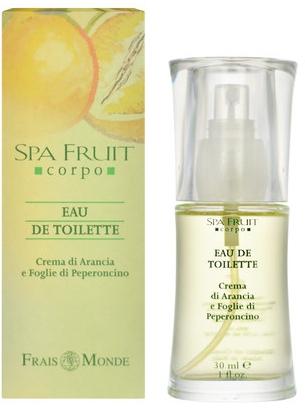 Frais Monde Spa Fruit Orange And Chilli Leaves - Toaletní voda — foto N1