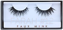 Parfémy, Parfumerie, kosmetika Umělé řasy №12 - Huda Beauty Faux Mink Lash 12 Farah