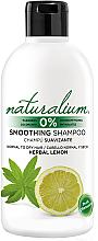 Parfémy, Parfumerie, kosmetika Vyhlazující šampon - Naturalium Herbal Lemon Smoothing Shampoo